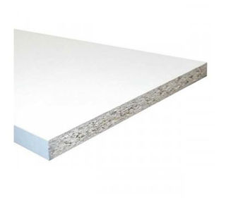 Picture of White Melamine Faced Chipboard 2440 x 15mm