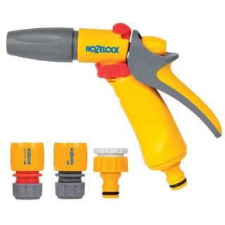 Hozelock Jet Spray Gun & Fittings Set