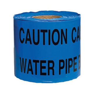 """Picture of Underground Warning Tape 150mm x 365m - """"Caution Water Pipe"""""""