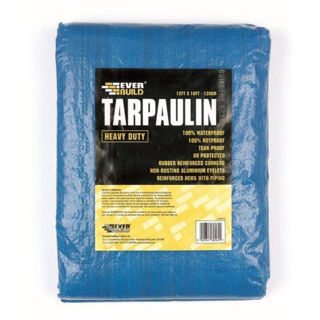 Picture of Everbuild Heavy Duty Tarpaulin 5.4 x 3.6m (120g)