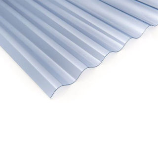 Picture of Marvec Corrugated PCV Sheet Clear 1.83M