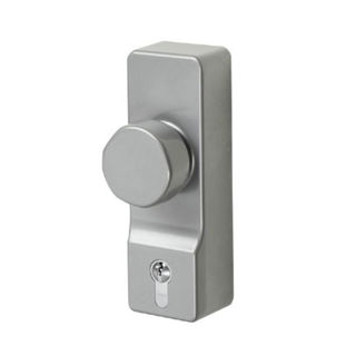 Picture of Exidor Panic Outside Access Conversion Kit with Euro Cylinder - Silver