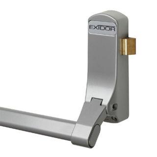 Picture of Exidor Single Door Panic Latch Push Bar Silver