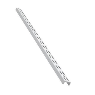 Picture of Adjustable Twin Slot Upright - White