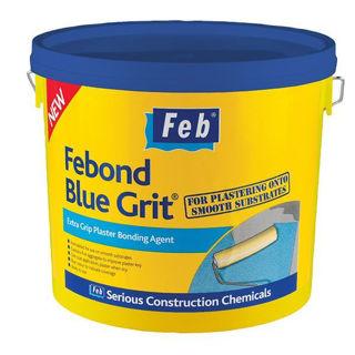 Febond Blue Grit Plaster 10L Murdock Builders Merchants