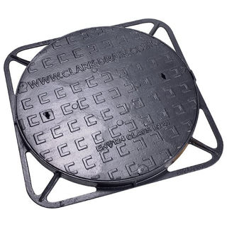 Ductile Iron Manhole Cover 600mm 40mm