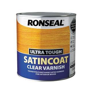 Picture of Ronseal Ultra Tough Satincoat Varnish 2.5lt