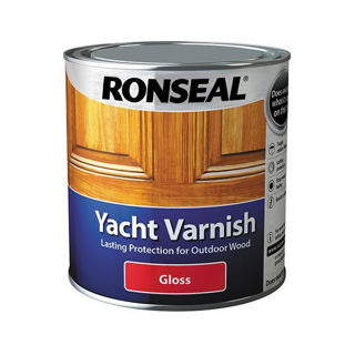Picture of Ronseal Yacht Varnish 1lt
