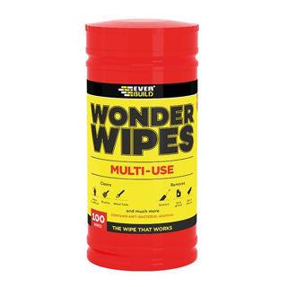 Multi-Use Wonder Wipes  (Pack of 100) Murdock Builders Merchants