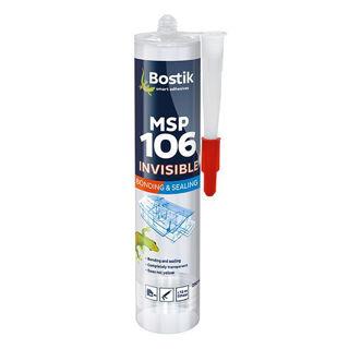 Bostik MSP106 Invisible 290ml Murdock Builders Merchants