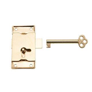 Cupboard Lock Eb 64mm with Key