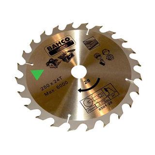 Bahco Circ Saw Blade 250mm x 30 x 24T 8501-28