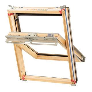 Keylite Pine Hi-Therm Centre Pivot Window