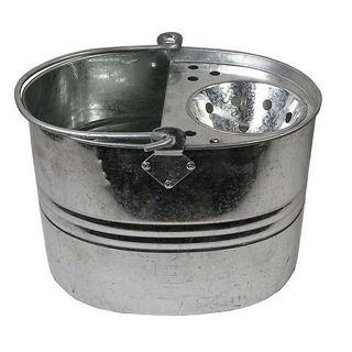 Castle Living Galvanised Mop Bucket 12L Murdock Builders Merchants