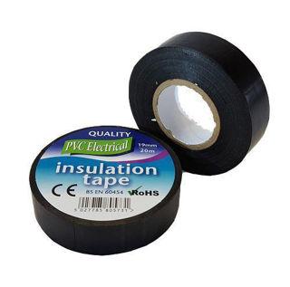 Black PVC Electrical Tape Murdock Builders Merchants