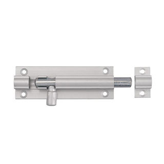 Picture of Polished Aluminium Straight Barrel Bolt 75mm