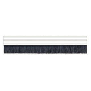 Exitex PVC Brush Strip White