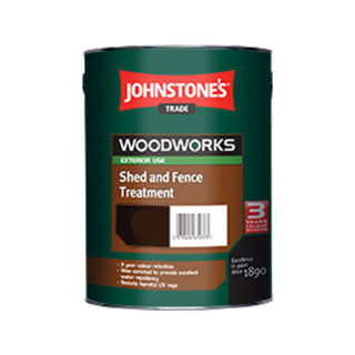 Johnstone's Woodworks Shed and Fence Treatment 5lt