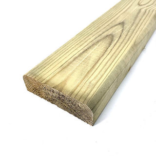 Timber D Rail 150mm x 35mm
