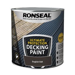 Ronseal Ultimate Decking Paint English Oak 2.5Ltr