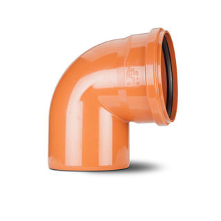 Polypipe 200mm 87.5 Degree S/S Bend UG812